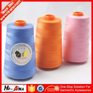 OEM Custom Made Top Quality Dyed Polyester Ring Spun Yarn pictures & photos