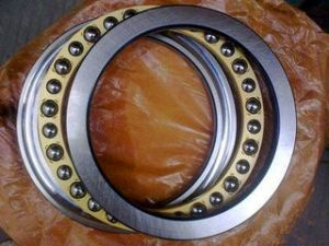 Chrome Steel Brass Cage Thrust Ball Bearing pictures & photos