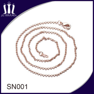 Sn001 Eco Friendly Brass Chain for Jewelry Necklace pictures & photos