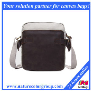 Unisex Small Casual Canvas Multipurpose Everyday Satchel Bag (MSB-036) pictures & photos