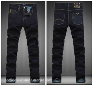 New Style Fashion Clothes Slim Stretch Blue Color Jeans pictures & photos