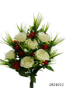 Artificial/Plastic/Silk Flower Rose, Azalea Bush (2824012) pictures & photos