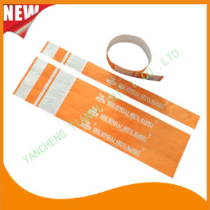 Tyvek Entertainment Water-Proof Tyvek Wristbands Bracelet Bands (E3000-3-26) pictures & photos