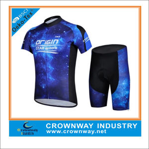 Custom Men Cycling Jerseys with Padded Cycyling Gear Shorts pictures & photos