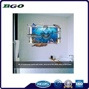 Removable Ocean Shark Underwater 3D Wall Sticker pictures & photos