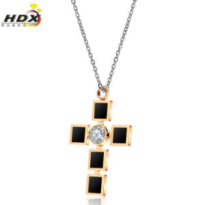 Fashion Necklace Stainless Steel Jewelry Cross Pendant (hdx1016) pictures & photos
