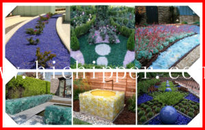 Beautiful Garden and Landscaping Decoration Glass Rocks pictures & photos