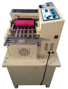 Magic Tape, Band, Tube, Sleeve, Webbing Strip Belt Cutting Machine (cold/hot module) pictures & photos