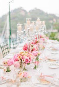 China Supplier Wedding Crystal Candelabra