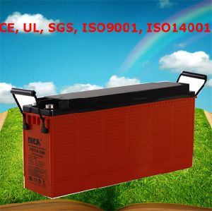 Ce UL SGS ISO9001 ISO14001 Battery 12V Gel Deep Cell Gel Batteries pictures & photos