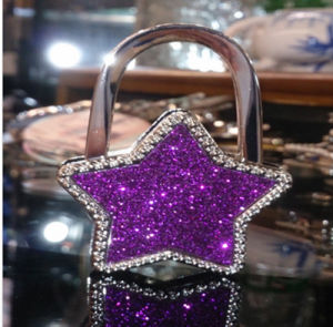 Factory Price Promotion Gift Glitter Starshaped Bag Hanger pictures & photos
