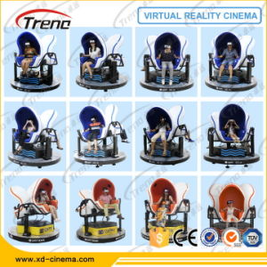 1/2/3 Seats Virtual Reality 3D Glasses 9d Cinema Egg Chair pictures & photos