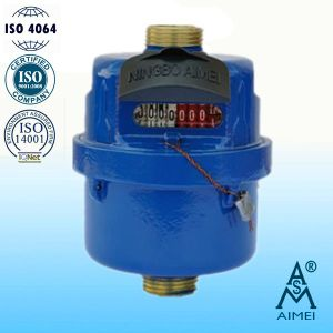 Volumetric Rotary Piston Type Brass Body Water Meter pictures & photos