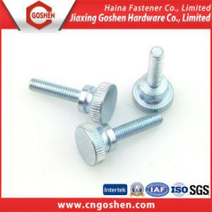 Galvanized Knurled Thumb Machine Screws (m1~m10) pictures & photos