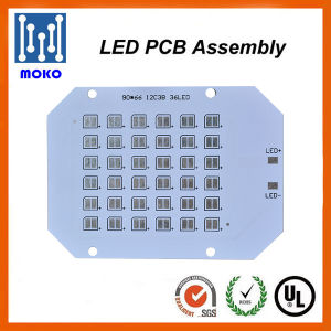 One Step Service LED PCB Assembly Factory, SMD5050 Round LED PCB pictures & photos