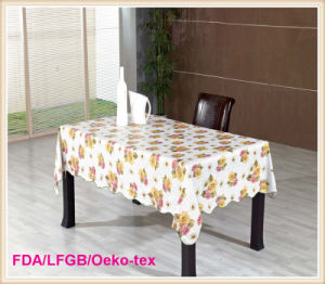 Tablecloth PVC Roll Factory in Wholesale pictures & photos