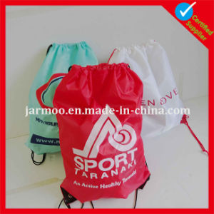 Custom Promotional Drawstring Backpack Bag pictures & photos