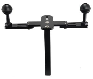 "Archon Z07 Mounting Bracket with Two 1"" Ball Single Hand′s Lamp Arm pictures & photos"