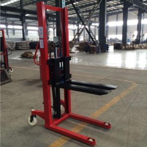 High Quality 1-2t Hand Pallet Stacker pictures & photos