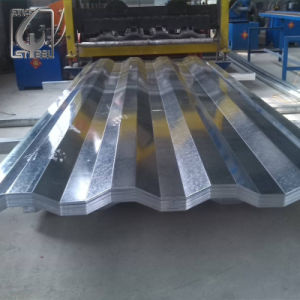 Prepainted Galvanized Corrugated Steel Roofing Sheet PPGI pictures & photos