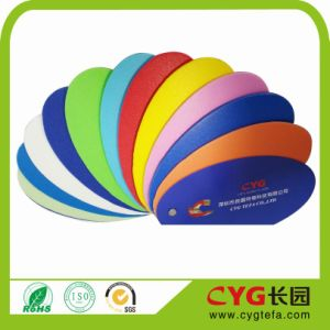 7mm Thickness IXPE Foam (Red, green, yellow, orange, black, white) Wig Decorated PE Foam pictures & photos