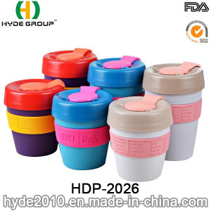 High Quality Removable Lid Small Plastic Travel Mug (HDP-2026) pictures & photos