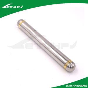 Stainless Steel Long Round Custom Laser Logo Cigar Tube
