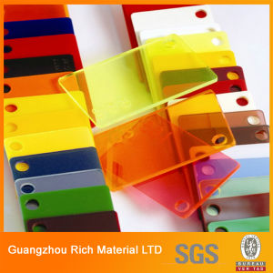 3mm Translucent Color Cast Acrylic Board Plastic Plexiglass Acrylic Sheet pictures & photos