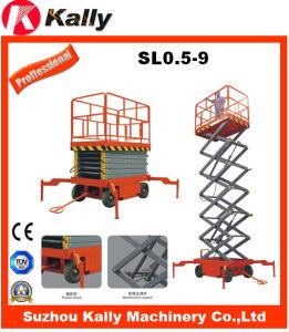 9m Height Man Operation Lift Platform (SL0.5-9)