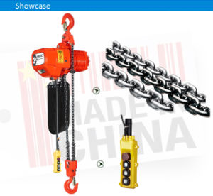 Monophase 0.5 Ton Overhead Electric Chain Hoist with Remote Control pictures & photos