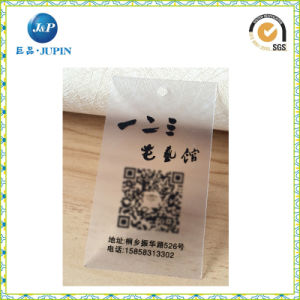 Best Fashion Custom Printed Clear Hang Tag (JP-HT053) pictures & photos