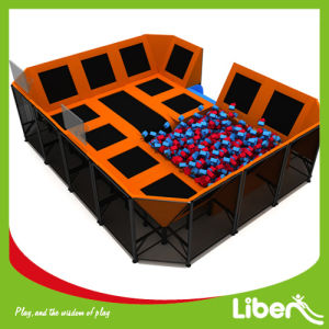 Cost-Effective Indoor Adult Trampoline Park with Foam Pit pictures & photos
