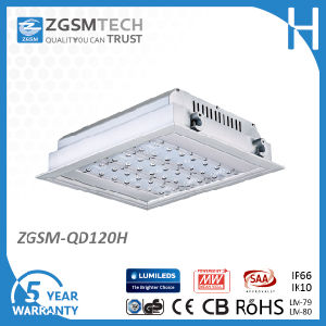 120W IP66 LED Lamp Gas Station Light with Motion Sensor pictures & photos