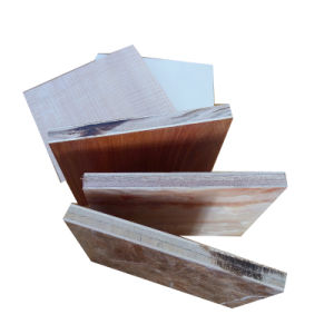 18mm E1 Grade High Glossy Melamine Plywood for Decoration pictures & photos