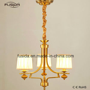 High Quality Fabric and Iron Material Chandelier Light Pendant Light for Home Decoration pictures & photos