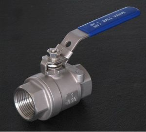 Stainless Steel 2-PC Ball Valve pictures & photos
