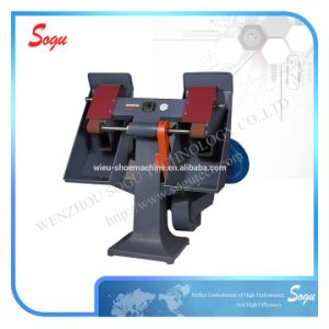 Double Head Control Vertical Sand Belt Shoe Sole Roughing Machine pictures & photos