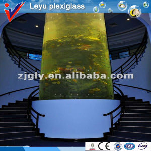 Spiral Stair Cylinder Fish Tank pictures & photos