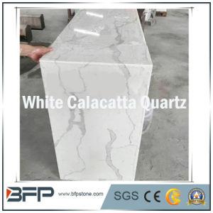 White Quartz Slabs for Vanity Tops/ Floor Tiles/ Bathroom Tiles pictures & photos