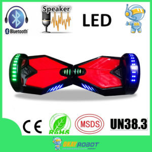 "8"" Inch Wheel Samsung Battery Mini Smart Balance Hoverboard with Bluetooth Speaker LED"
