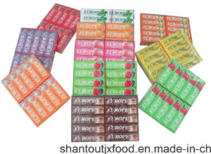 11 Flavors Cardboard Tray European Cup Chewing Gum pictures & photos