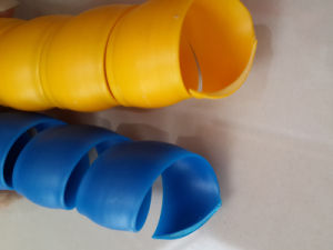 Produce Spiral Plastic Protective Sleeve pictures & photos
