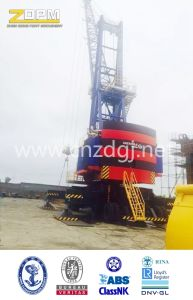 High Quality Moving Type Hydraulic Balance Crane pictures & photos