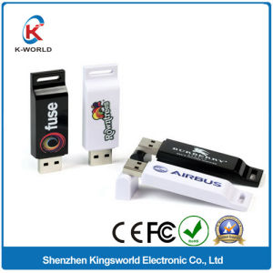 2GB Plastic USB Flash Disk with Color Printing pictures & photos