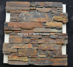 Artificial, Cultured Stone for Wall Cladding (stone veneers S1120) pictures & photos