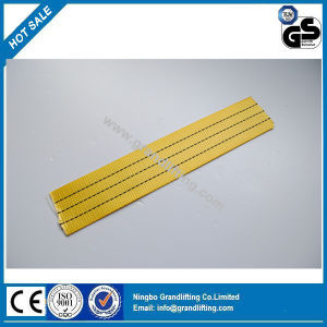 3t Yellow Polyester Webbing Sling Belt Material pictures & photos