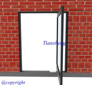 Aluminum Entrance Door pictures & photos