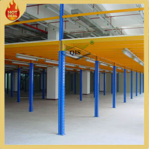 Heavy Duty Adjustable Warehouse Steel Storage Mezzanines Rack pictures & photos