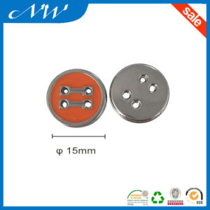 Factory Price for Zinc Alloy Button with Enamel Color