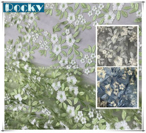 Flower Garment Fabric Lace Fabric for Girl Dress